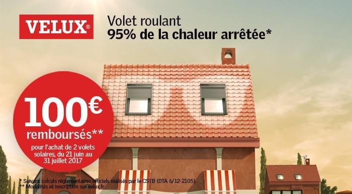 Volets Roulants Velux : Jusqu'À 100€ Remboursés - Nos Actualités